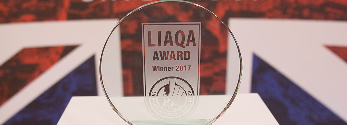 LIAQA award winner 2017 trophy photograph