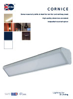 Cornice product leaflet cover image