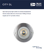 City GL Product Leaflet cover image