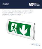 Elite Product Leaflet cover image