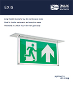 Exis Product Leaflet cover image