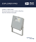 Explorer PRO Product Leaflet cover image