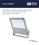 Explorer Product Leaflet cover image