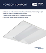 Horizon Comfort Product Leaflet cover image