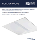 Horizon Focus Product Leaflet cover image