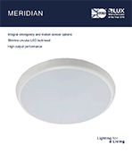 Meridian Product Leaflet cover image