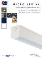 Micro LED XL Product Leaflet cover image