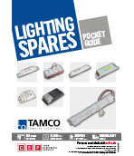 TAMCO lighting spares pocket guide cover image