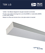 TBX LG Product Leaflet cover image