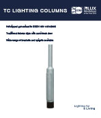 TC lighting column Product Leaflet cover image