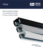 Trio track Product Leaflet cover image