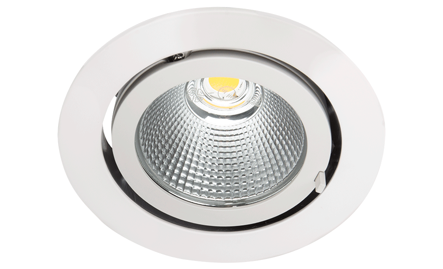I3 Recessed adjustable downlight