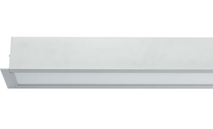 SOLO R LED Recessed opal diffuser product photograph