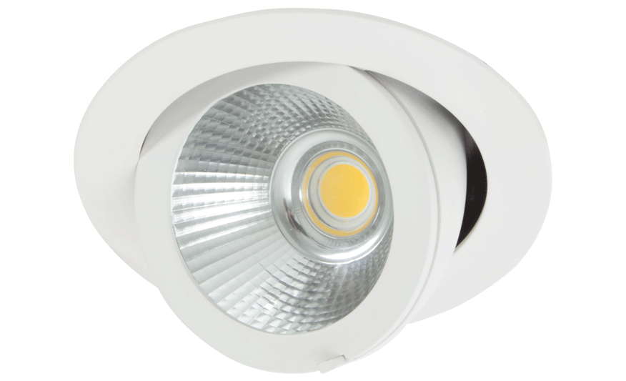 i3 Recessed adjustable downlight product photograph