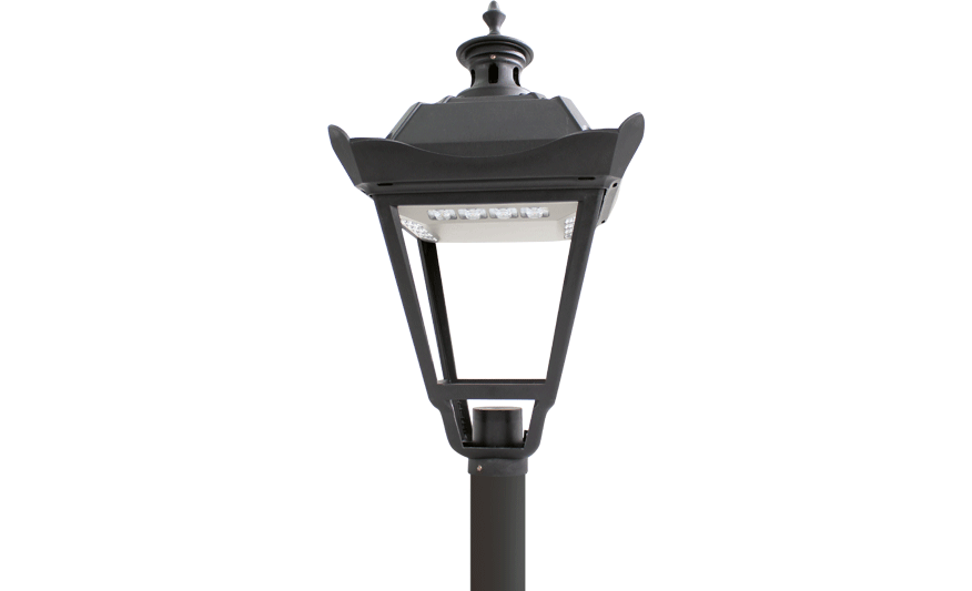 Churchill LED Post-top lantern