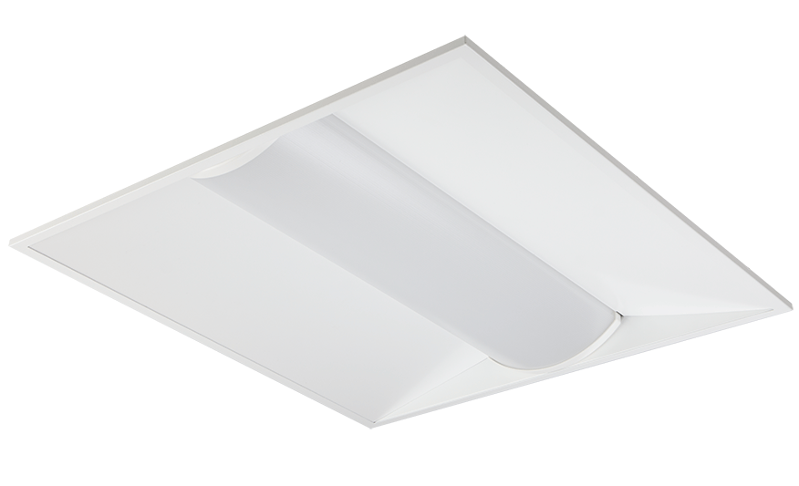 Horizon Comfort Recessed LED module with indirect/direct output