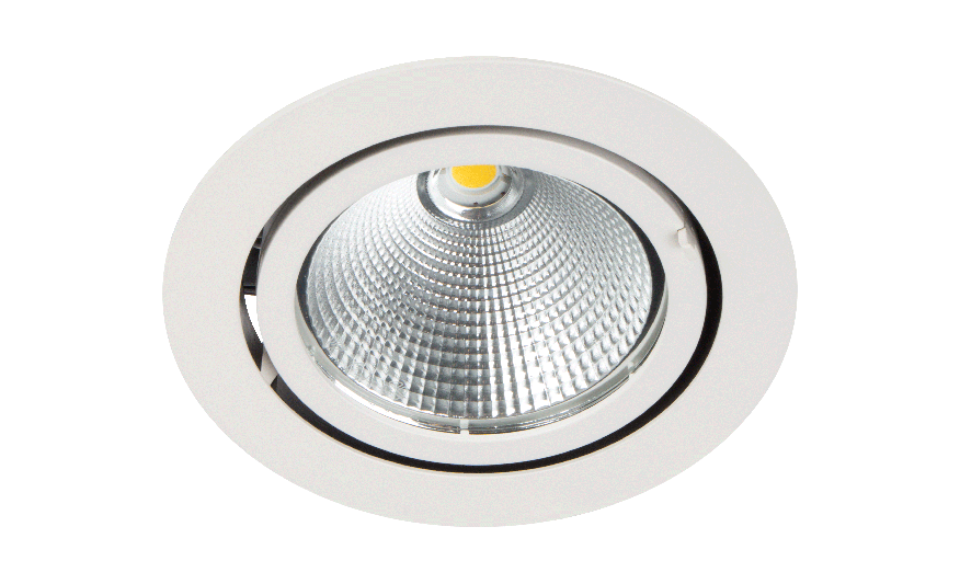 i5 High output adjustable downlight product photograph