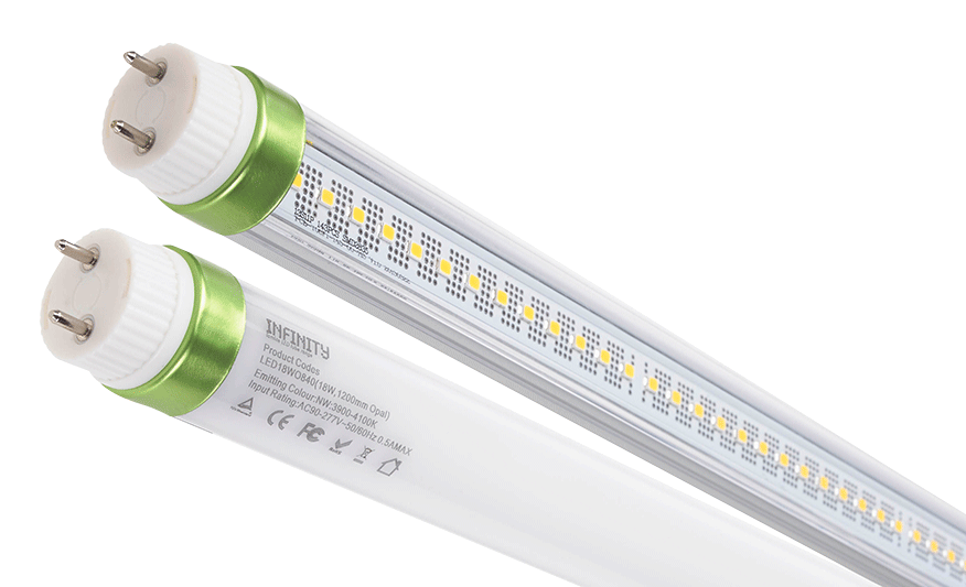 Ifinity T8 Retrofit Led Lamps Replacement Of Traditional T5 Photograph