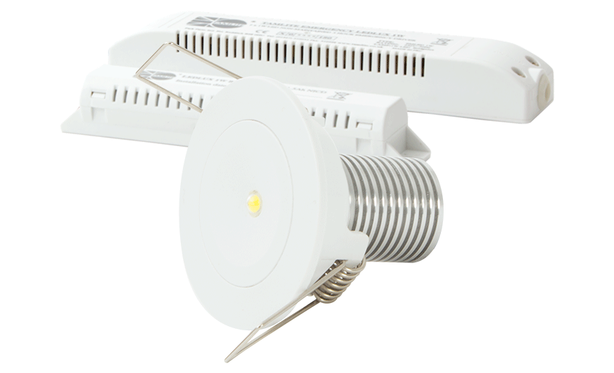 Emled Recessed emergency downlight