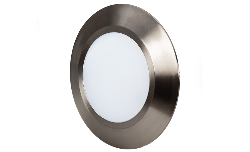 SOLAR L Wall light with halo ring product photograph