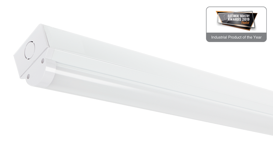 Tbx Wide beam Tri-Colour LED Batten