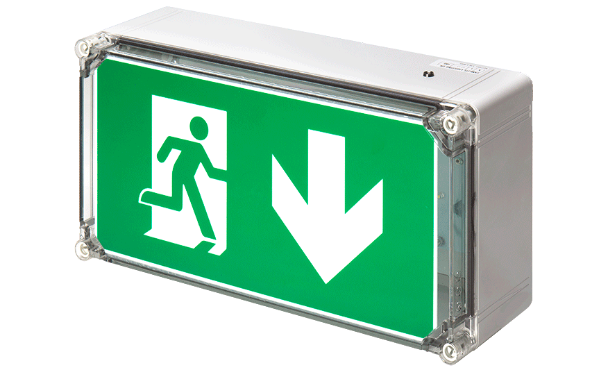 Wp Exit Box weatherproof emergency exit box