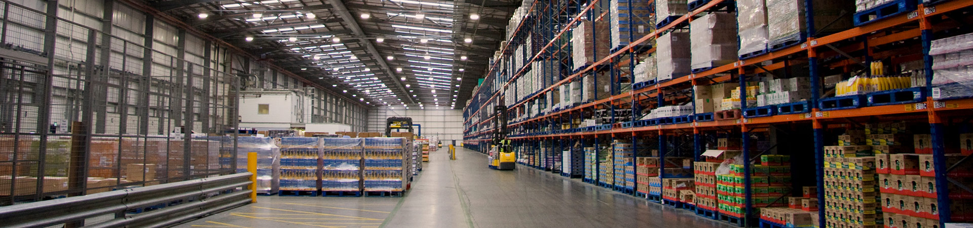 Lighting for Warehouse & Logistics